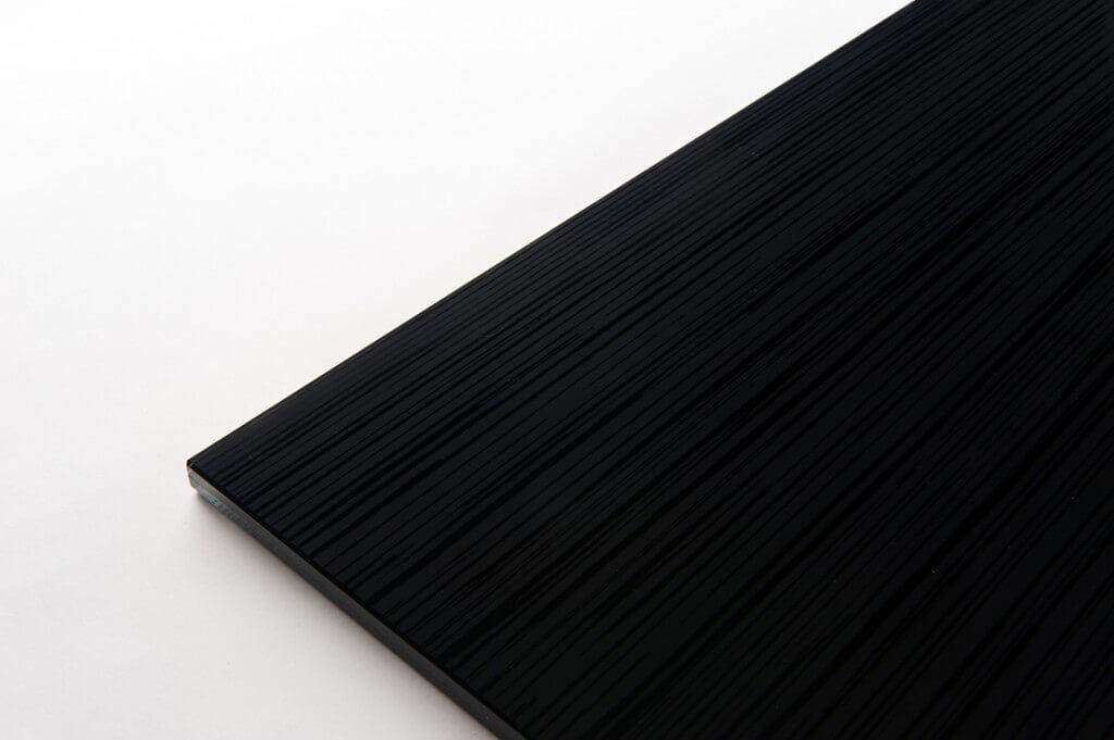 vetro extra chiaro PVB nero più lato satinato tutte le lavorazioni no temperabile