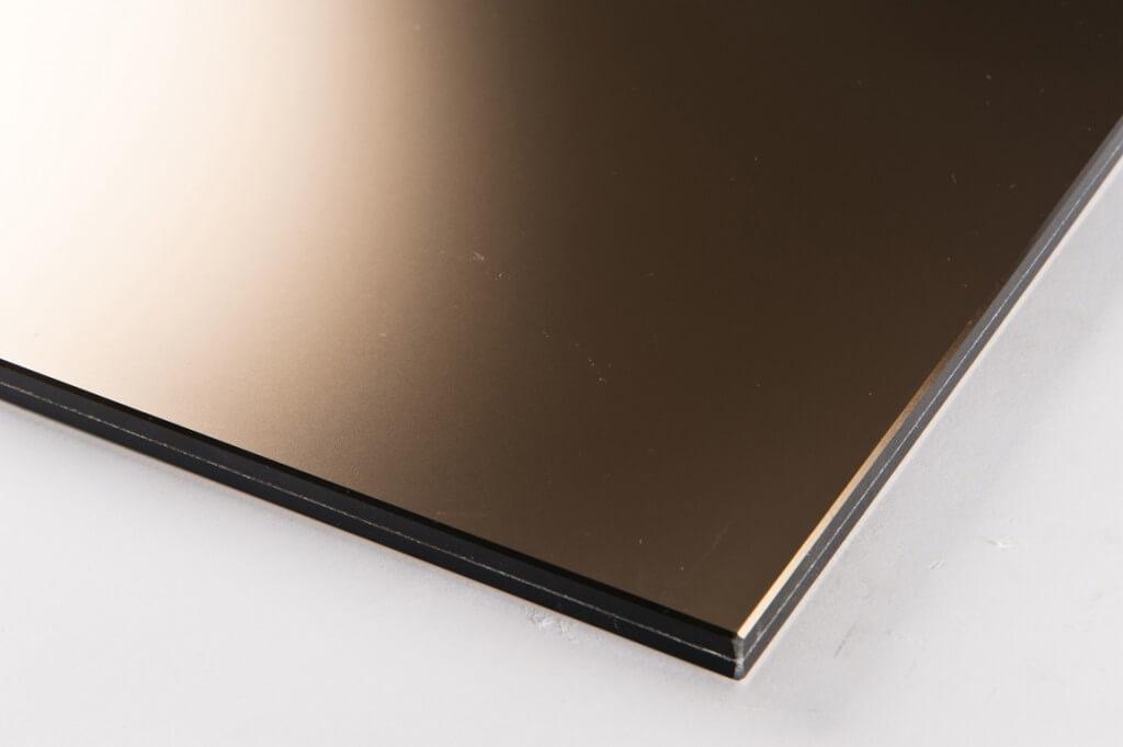 specchio bronzo acidato