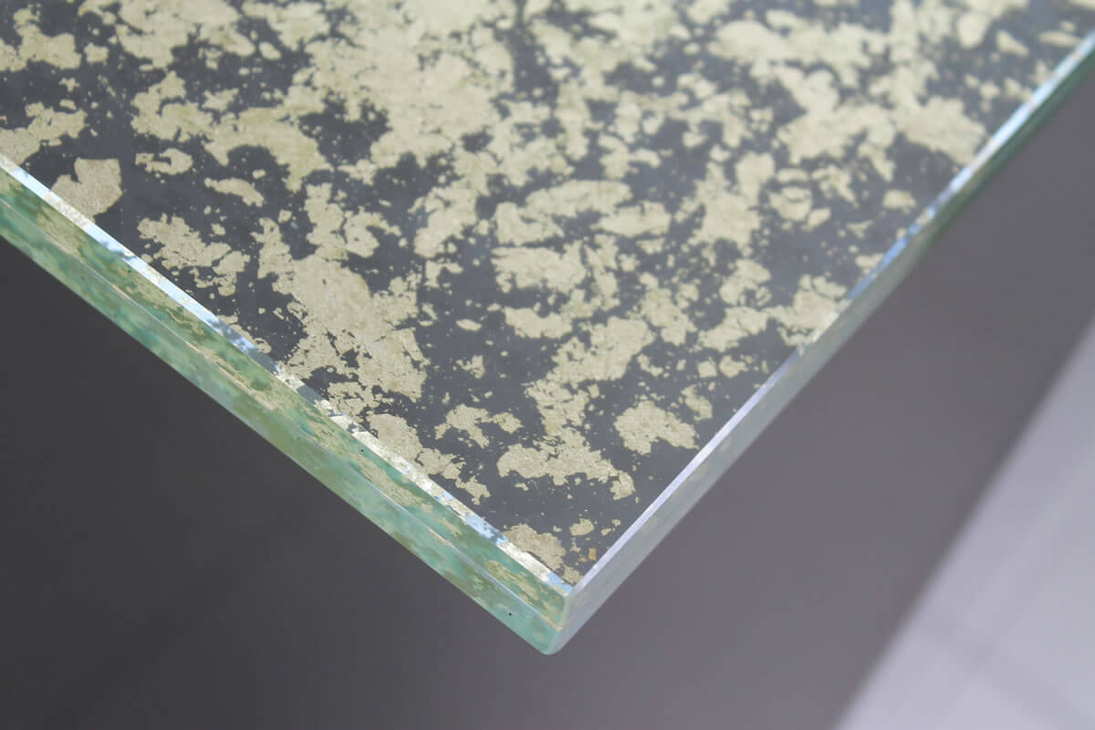 vetro float bisellatura o filo lucido