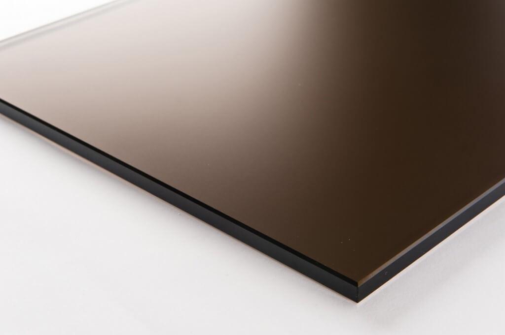 vetro parsol bronzo satinato fine tutte le lavorazioni, cristallo parsol bronzo satinato tutte le lavorazioni