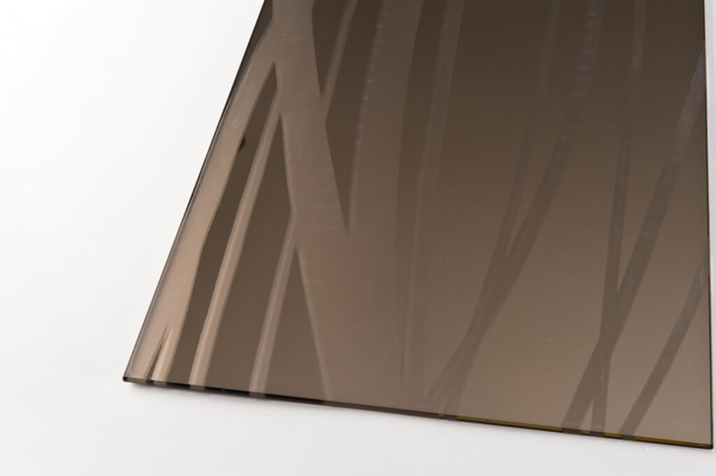 specchio bronzo decoro sabbia